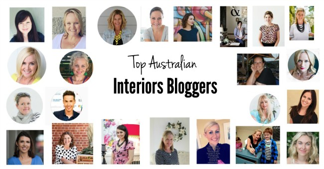 Top Interiors Bloggers Header